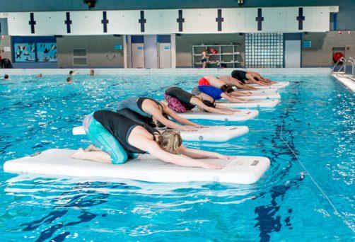 Aqua yoga 23 mrt 2019